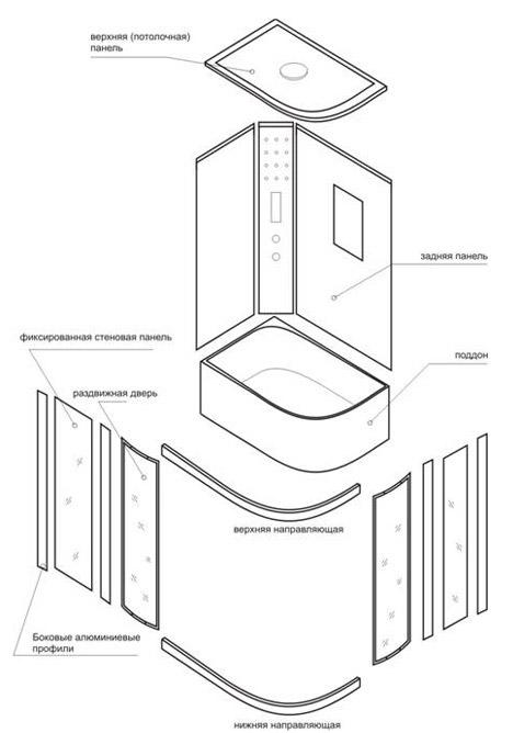 Монтаж и подключение душевой кабины: инструкция для самостоятельных