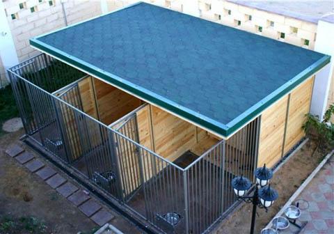 Вольер для собаки: какой лучше, как построить, размеры, схемы, изготовление